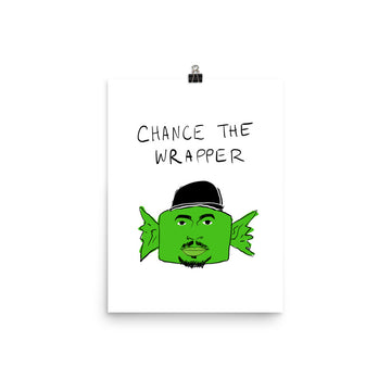 Chance the Wrapper Poster
