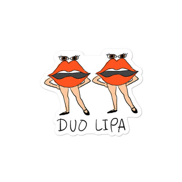 Duo Lipa Sticker
