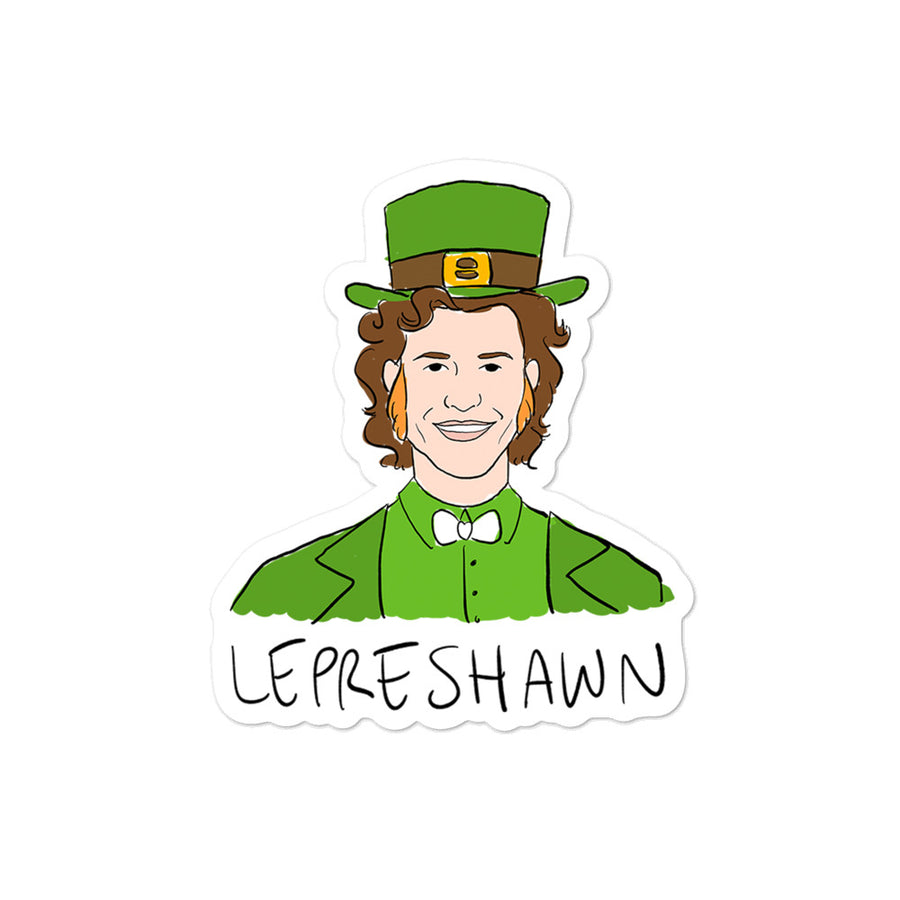 Lepreshawn Sticker