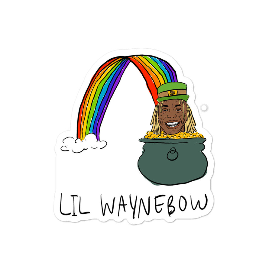 Lil Waynebow Sticker