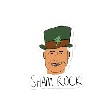 Sham Rock Sticker
