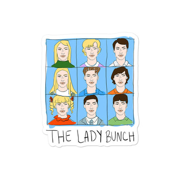 The Lady Bunch Sticker