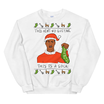 This is a Sock Ugly Sweater