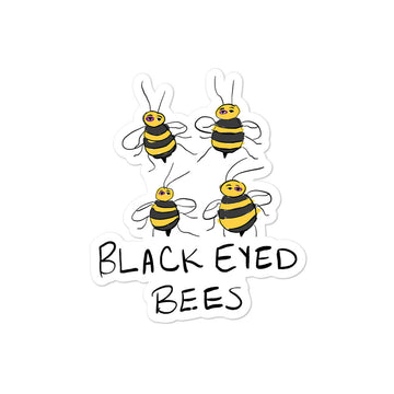 Black Eyed Bees Sticker