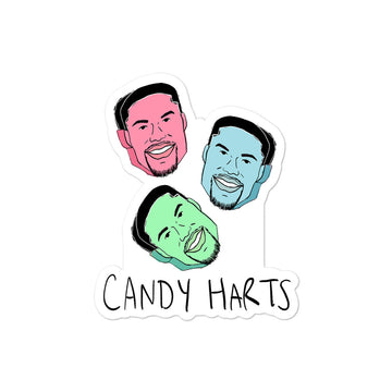 Candy Harts Stickers