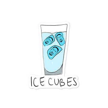 Ice Cubes Sticker