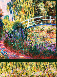 Claude Monet -The Lily Pond, puuvilla