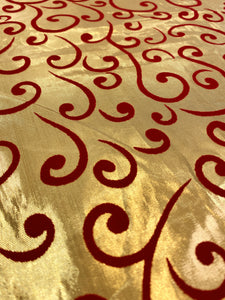 Golden Swirls, polyester