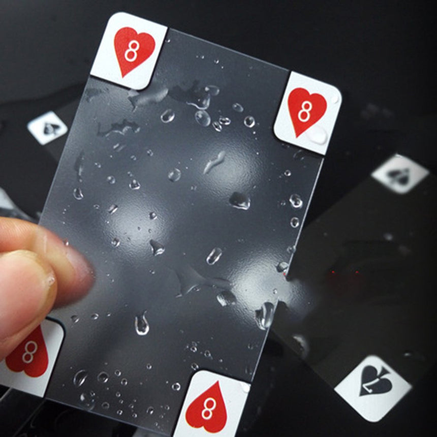 CRYSTAL TRANSPARENT Waterproof Playing Cards