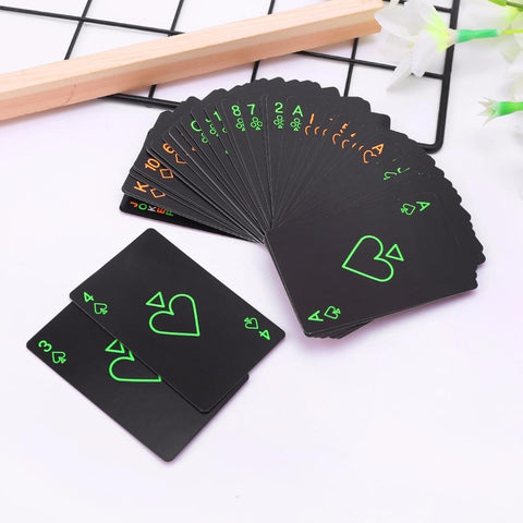 NIGHT LIGHT Glow-in-the-Dark Playing Cards