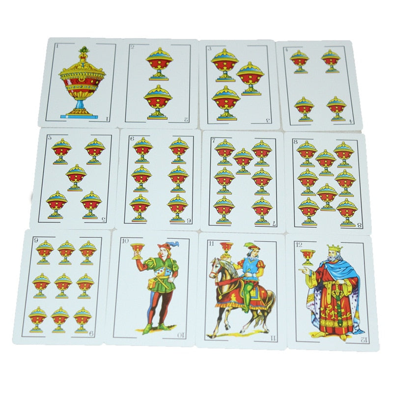 ROYALTY Spanish Playing Cards