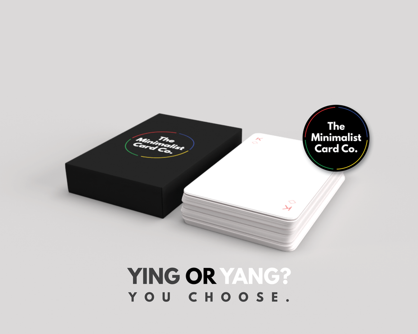 YIN & YANG Minimalist Playing Cards