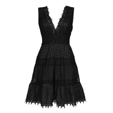 Zea Black Dress