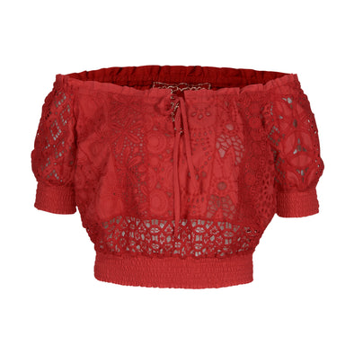Fresia Top Red