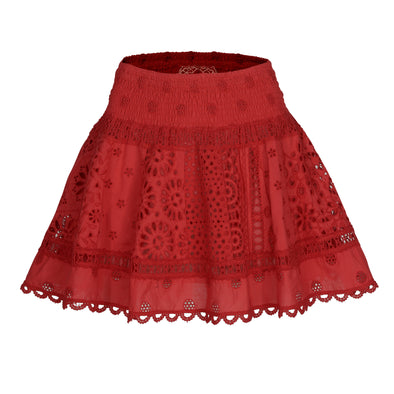 Lima Skirt Red