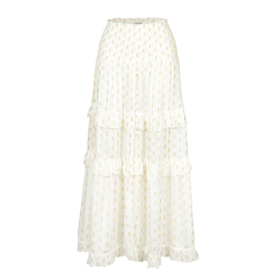 Antonella White Skirt