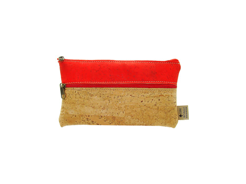 Square Cork Coin Purse (Medium)
