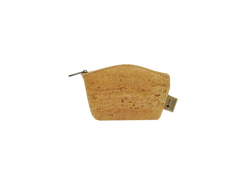 Round Cork Coin Purse