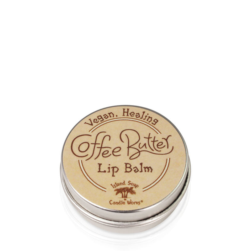 Coffee Butter Lip Balm Tin