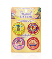 Tropical Lip Balm Tin Sample Pack