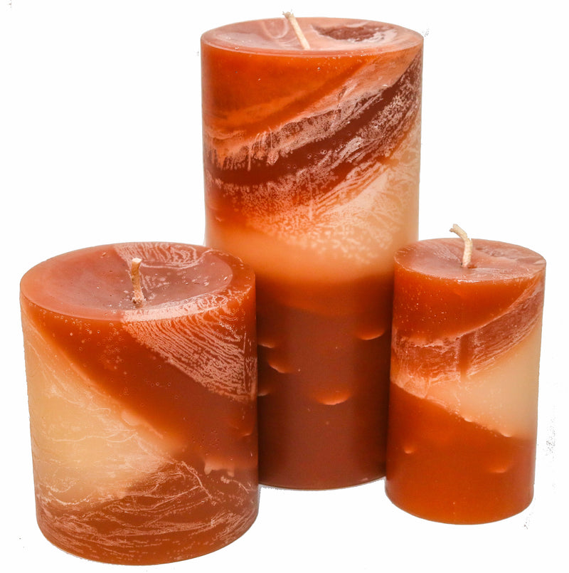Creamy Coconut Pillar Candles