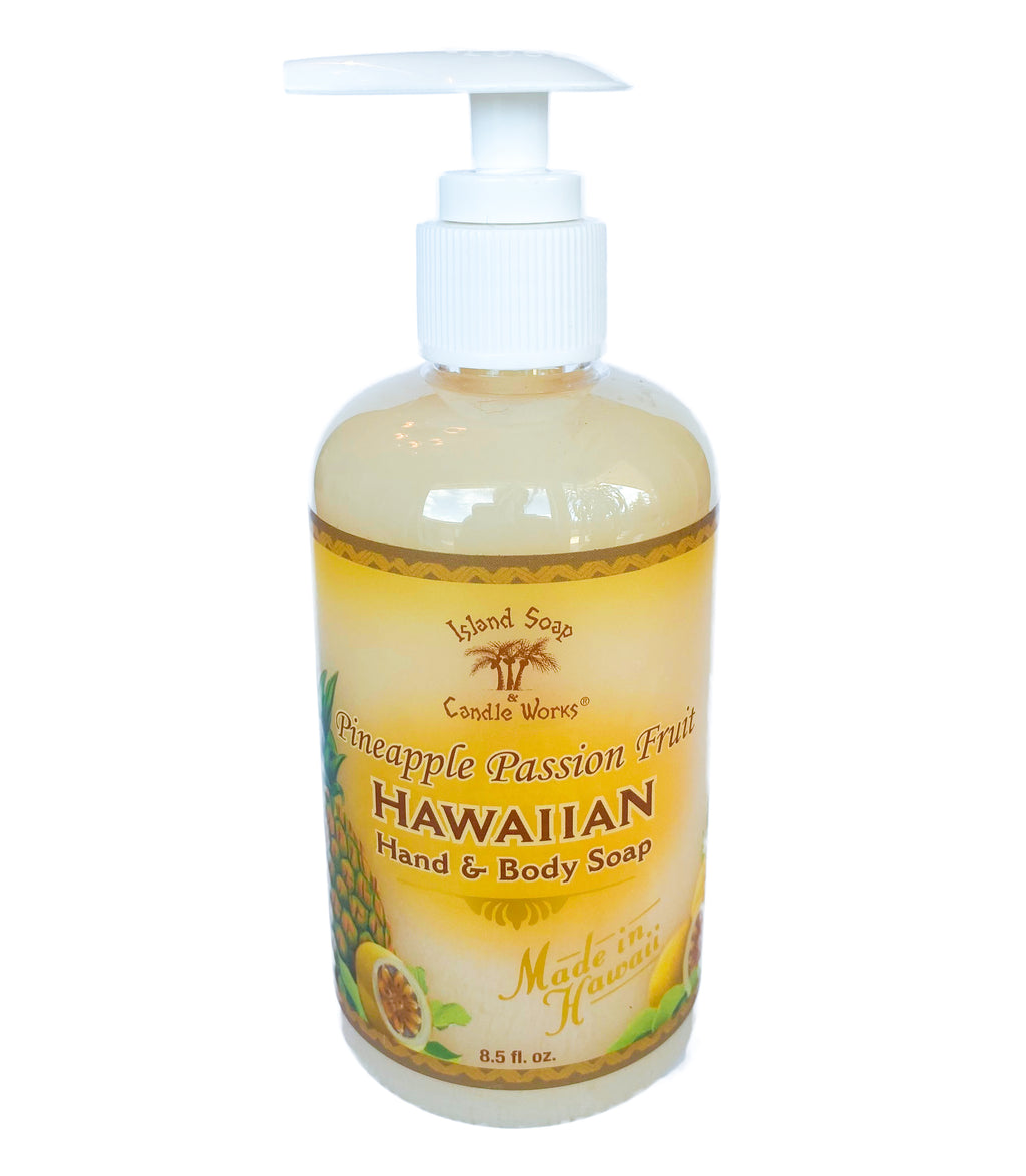 Pineapple Passion Fruit - 8.5 oz. Liquid Hand and Body Soap
