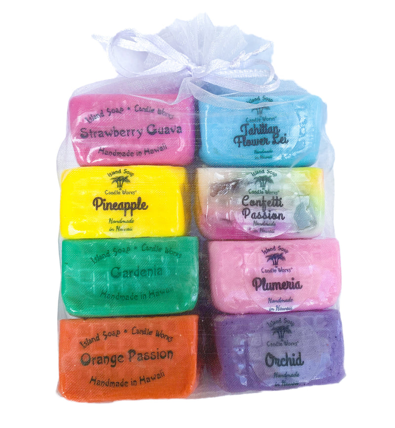 Hawaiian Cube Soap Sample Pack