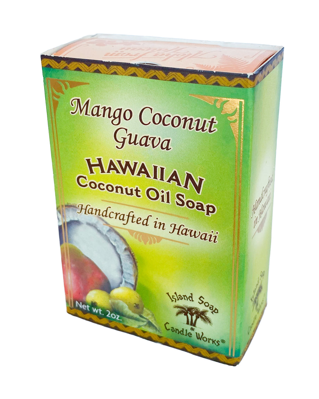 Mango Coconut Guava - 2 oz. Coconut and Palm Oil Soap