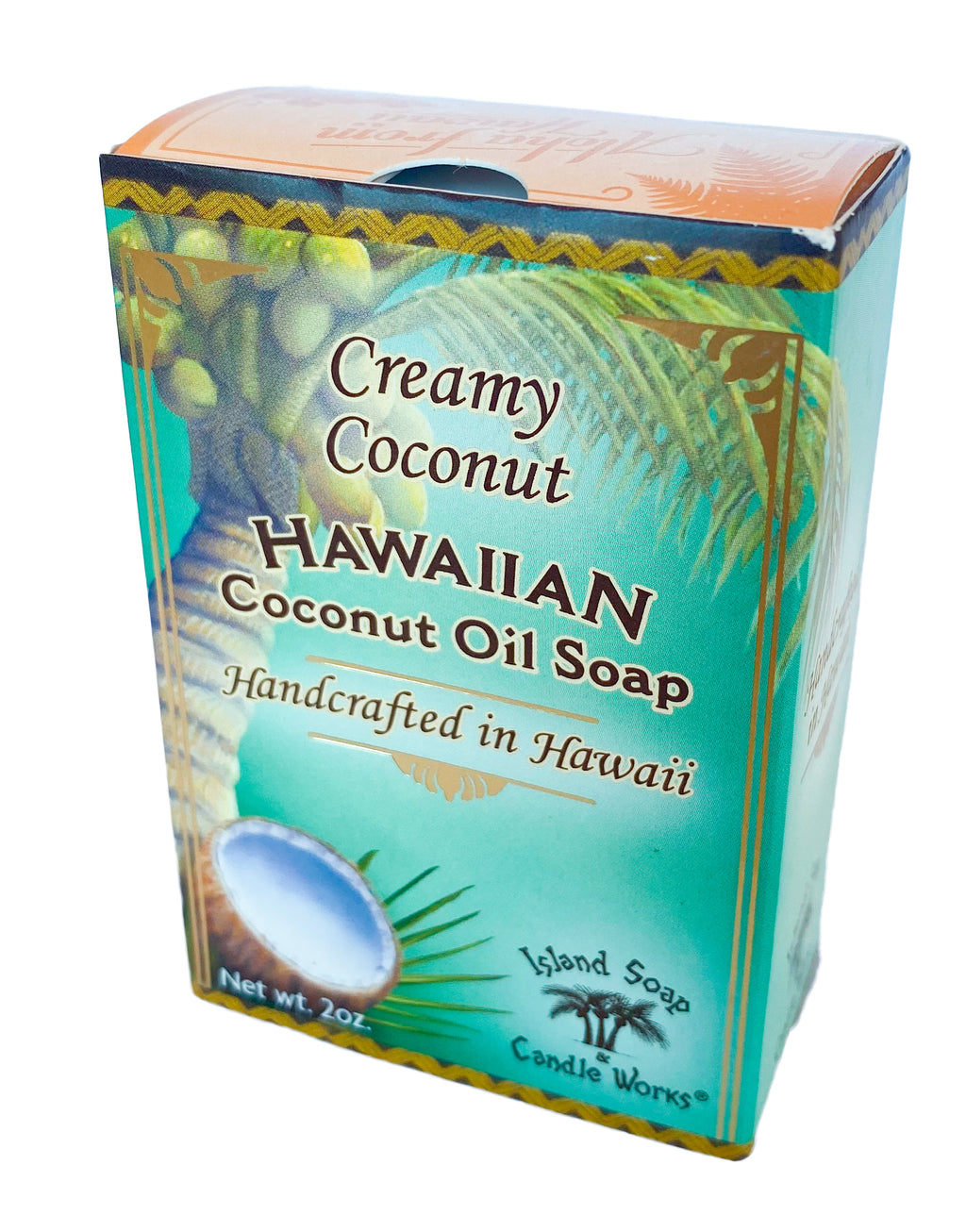 Creamy Coconut - 2 oz. Coconut and Palm Oil Soap