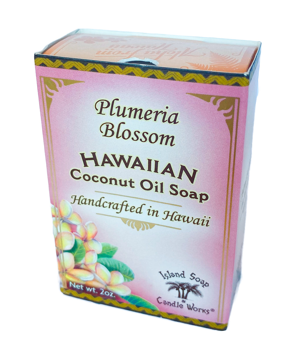 Plumeria Blossom - 2 oz. Coconut and Palm Oil Soap