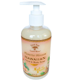 Plumeria Blossom - 8.5 oz. Liquid Hand and Body Soap