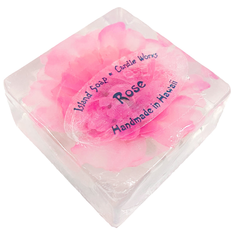 Rose Flower Glycerin Square