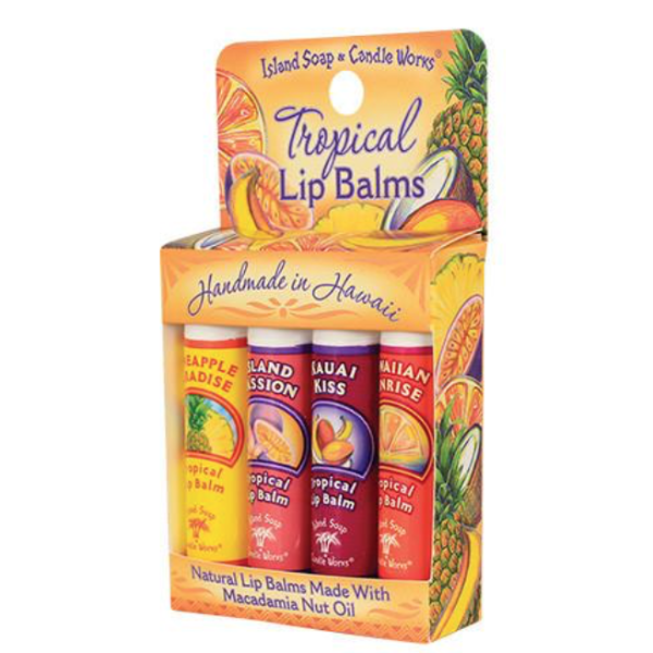 Tropical Lip Balm Stick Sample Pack