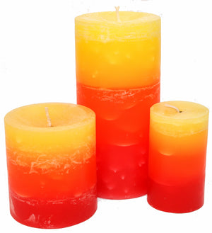 Tropical Fruit Pillar Candles