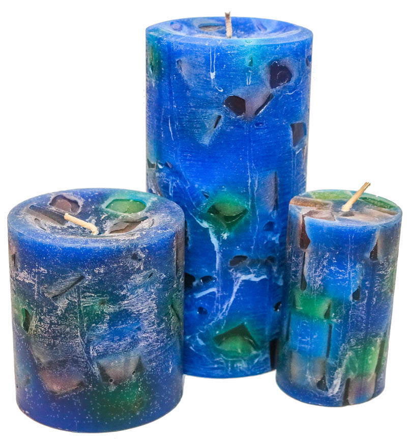 Vanilla Sea Pillar Candles