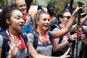 Regatta helps get celebs to the top of Kilimanjaro
