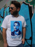 T-Shirt Motiv Justice Limited Edition - Yves Findling