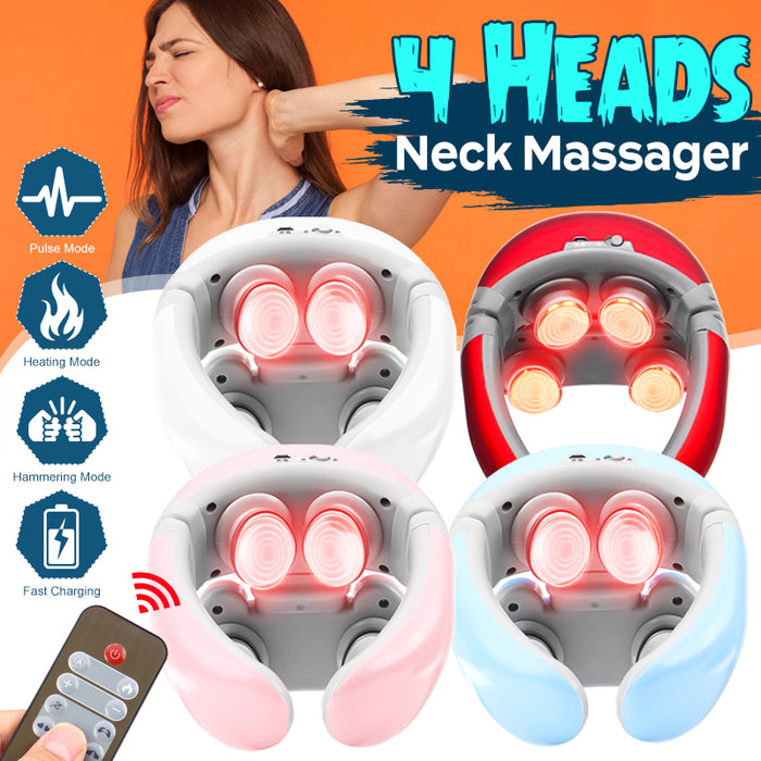 Electric Neck Massager With Remote Control
