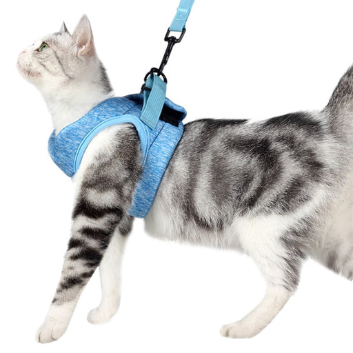Escape Proof Cat Vest Harness and Leash - MyLunaShop
