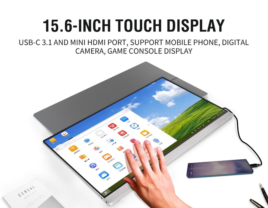 Ultralight Portable 4K Touchscreen Monitor - MyLunaShop