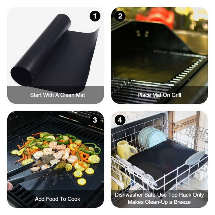 2020 Non-Stick BBQ Baking Mat (Buy 2 Get 1 Free Just ADD To The Cart 3 pcs) - MyLunaShop