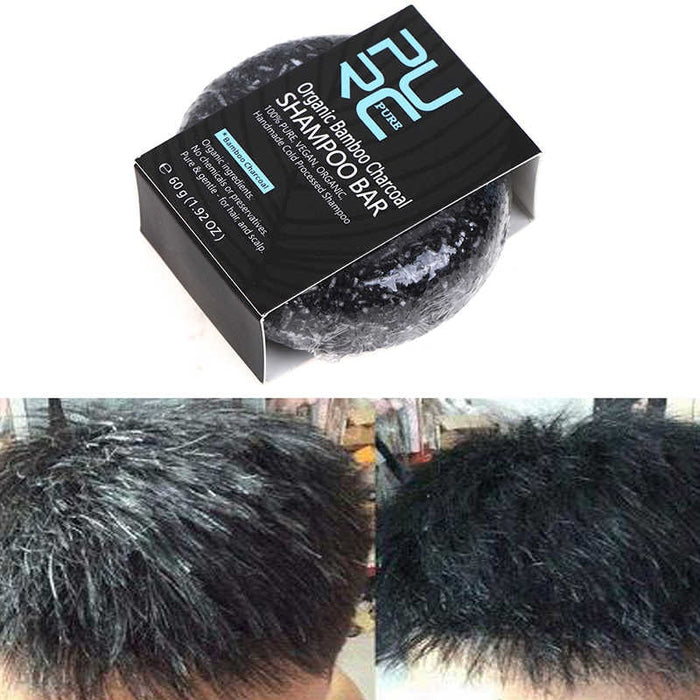 Gray Hair Color Treatment Bamboo Soap Bar
