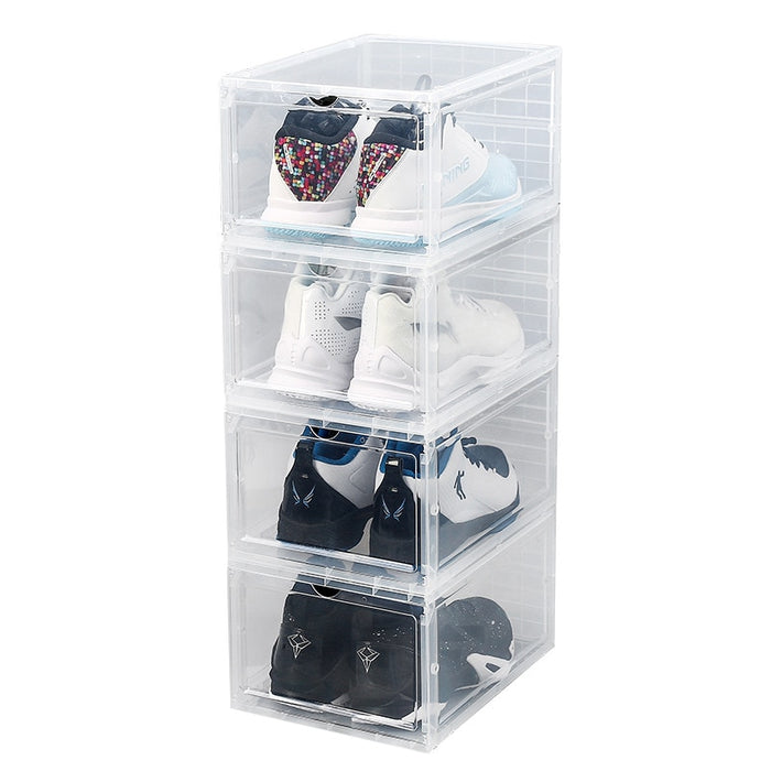 Transparent Plastic Shoe Boxes  (1PC.) - MyLunaShop