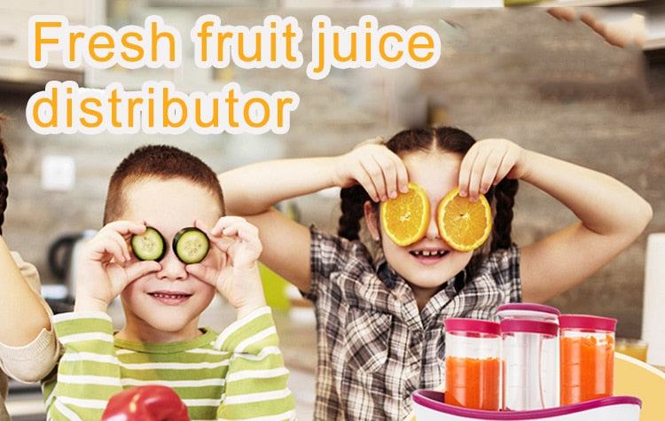 BABY FOOD SQUEEZE STATION - MyLunaShop