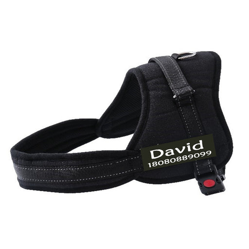 THE PERSONALIZED NO-PULL DOG HARNESS - MyLunaShop