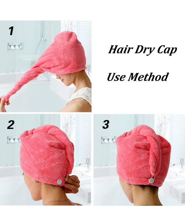 RAPID DRYING HAIR TOWEL - MyLunaShop