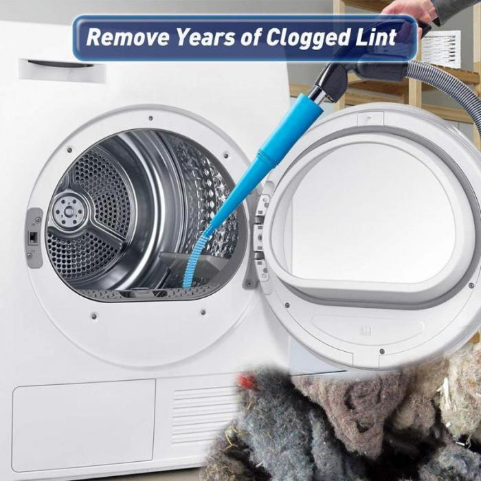 FLEXIBLE LINT REMOVAL VACUUM HOSE ATTACHMENT - MyLunaShop