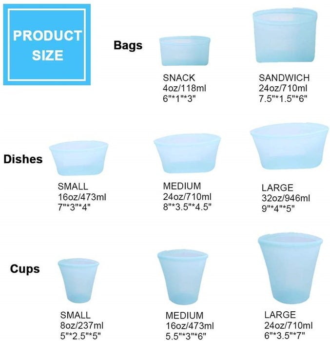 ZIP TOP CONTAINERS - MyLunaShop