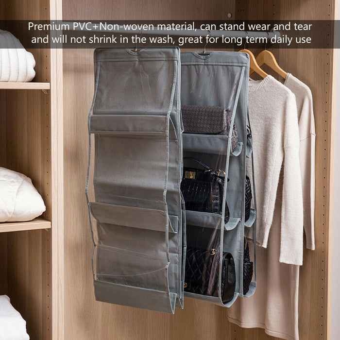 3 LAYERS FOLDING SHELF BAG PURSE - MyLunaShop