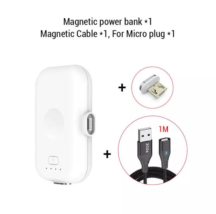 Mini Magnetic Power Bank - MyLunaShop